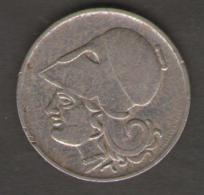 GRECIA SERIE 2 MONETE 50 LEPTA - DRACHMAI 1926 - Grecia