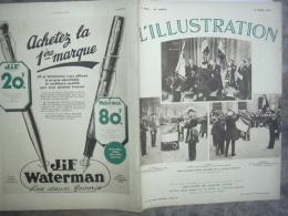L'ILLUSTRATION 4802 HYDRAVION / GRECE/ LITHUANIE/ MALCOM CAMPBELL/ FINLANDE/ PARACHUTISME/  16 Mars 1935 - Journaux - Quotidiens
