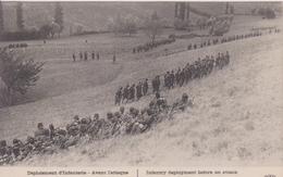 """77 SEINE ET MARNE VAREDDE  """"  Déploiement D'infanterie Avant L'attaque Aux Bords De La Route De Varedde   &q - La Ferte Sous Jouarre"""