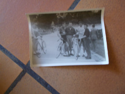 PHOTO FAUSTO COPPI  MAILLOT BIANCHI VELODROME DE LYON   U.C.M - Cyclisme