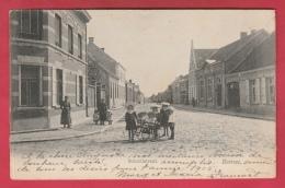 Beerse - Schoolstraat ... Groep Kinderen - 1904 ( Verso Zien ) - Beerse
