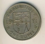 Mauritius Von 1971  1 Rupie  (48080) - Mauritius