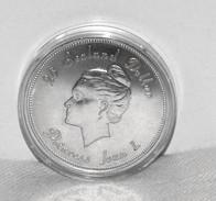 Münze/Coin Silber/Ag 925 Fürstentum/Principality Of Sealand, Prinzessin/Princess Joan I, 1975, Nominal 20 Dollars - Münzen