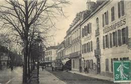 - Ref M713- Hautes Pyrenees - Tarbes - Place Maubourguet - Poste - Postes - Autobus - Autocar - Autocars - Transports - - Tarbes