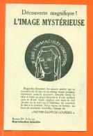 """CPA Decouverte Magnifique - L´image Mysterieuse """" Notre Dame De Lourdes """"  FJC7 - Contre La Lumière"""