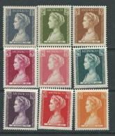 Monaco N° 478 / 86  X Naissance De La Princesse Caroline, Les 9 Valeurs Trace De  Charnière Sinon TB