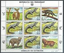 Paraguay  1983-4  Sc#2119-20 Endangered Species Set/ Souv Sheet   MNH - Paraguay