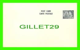 ENTIER POSTAUX - PRE STAMP POST CARD - REINE ELIZABETH - 8 CENTS - - 1953-.... Reign Of Elizabeth II