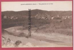30 -- ST AMBROIX--Vue Générale De La Céze-- - Saint-Ambroix