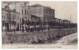 Macedonia Bitola Serbia Monastir - People On The Shores Of Dragor River 1918 Postcard [9089] - Macedonia