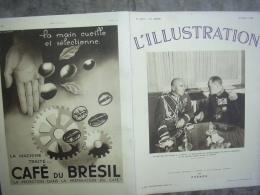 L'ILLUSTRATION 4877 GUERRE Espagne/ ALGERIE / ARTOIS/ ETRETAT/ DANEMARK/ PEROU 22 Aout 1936 - Journaux - Quotidiens