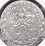 Allemagne, Weimar 3 Reichsmark 1929 E - Meissen - [ 3] 1918-1933 : Weimar Republic