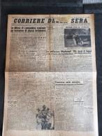 CORRIERE DELLA SERA 9-GIUGNO-1943-LA DIFESA DI LAMPEDUSA RESPINGE UN TENTATIVO DI SBARCO BRITANNICO- - Libri, Riviste, Fumetti