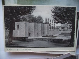 Wo ? Denkmal 1914 - 1918 - Postkaarten