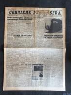 CORRIERE DELLA SERA 16-GIUGNO-1943-NOSTRO SOMMERGIBILE ALL'ATTACCO DI UN CONVOGLIO NEL MEDITERRANEO- - Libri, Riviste, Fumetti