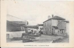 CLAYEURES - La Mairie Et L'Ecole - Other Municipalities