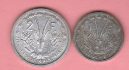 REPUblique CENTRAFRICAINE, 1 & 2  De 1948  **2 Scannes - Centrafricaine (République)