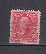 USA 2 C. Washington Michel 139 1902 -  MH: Links + Unten Geschnitten. - Vereinigte Staaten