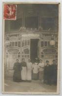 13 - Marseille - Le Prado Le Five O´clock Tea Café Carte Photo 1909 - Castellane, Prado, Menpenti, Rouet