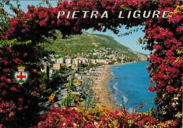 PIETRA  LIGURE    SPIAGGIA  VERSO  LEVANTE      (VIAGGIATA) - Italia