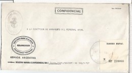 ARGENTINA CORREO OFICIAL NAVAL SUBMARINO ARA SALTA