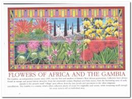 Gambia 2002, Postfris MNH, Flowers - Gambia (1965-...)