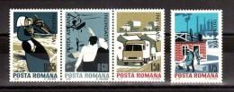 Roumanie - 1970 - N° 2567 à 2569 + PA N° 225 - Neufs ** - Inondations - 1948-.... Republics
