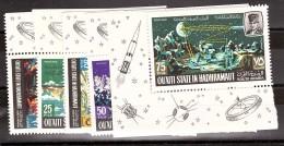 Espace - 1967 - Série N° 86 - TP Neufs ** - Hadhramut - Collections