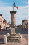 """18 CHER BRUERE ALLICHAMPS  """"  Borne Militaire Du III Eme Siecle Marquant Le Centre De La France """"  Lys N° B 38 - Autres Communes"""