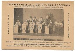 LE GRAND ORCHESTRE MUSET'JAZZ - LAONNOIS - FONDE' DU MUSETTE - - Music And Musicians