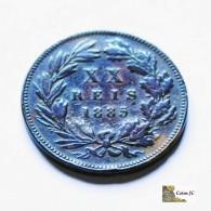 Portugal - 20 Reis - 1885 - Portugal