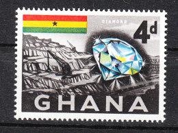 Ghana   -   1959.  Diamante. Diamond. MNH - Mineralien
