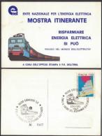 IT64     Electricity Italy  ENEL  Il Treno Del Risparmio Elettrico - Elettricità