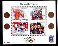 Olympics 1994 - Biathlon - NORWAY - S/S MNH**