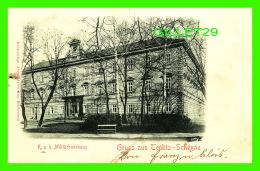 TEPLITZ-SCHONAU, TCHÉQUIE - K. U. K. MILITARBADEHAUS  - TRAVEL IN 1901 - UNDIVIDED BACK - ANTON HEIN - - Tchéquie