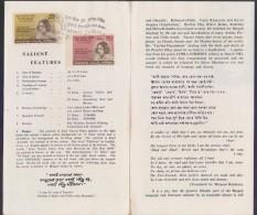 PAKISTAN 1968 Stamped Leaflet - Kazi Nazrul Islam Bengali Poet, Musician, Very Rare With DACCA Postmark
