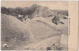 Carrara. Carrare. Cave Di Carrara. Marmor. Marbre. CPA Circulé, Timbrée. 2 Scans - Carrara
