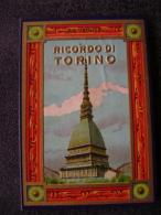 CARNET ALBUM DEPLIANT LEPORELLO RICORDO DI TORINO PANORAMA - Tarjetas Panorámicas