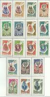 Alto Volta 1960-, Maschere Di Animali (**), Serie Completa - Alto Volta (1958-1984)