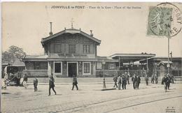 Val De Marne JOINVILLE LE PONT Place De La Gare Belle Animation  ......G - Joinville Le Pont