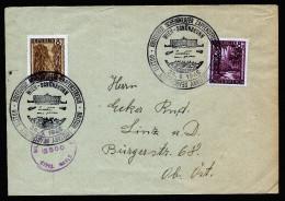 A4287) Austria Österreich Brief Wien 24.6.46 Nach Linz Mit Seltenem Sonderstempel Und Zensur - 1945-60 Briefe U. Dokumente