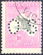 AUSTRALIE SERVICE N°12A(B) OBLITERE