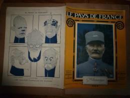 1917 LPDF :Tanks Français,british;Prisonniers à Dresde;Craonne;Aubréville;Macédoine(ital,Fran,russ,brit,serb);Midinettes - Magazines & Papers