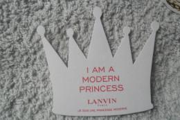 Lanvin Princess - Perfume Cards