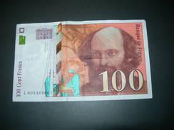 Francia.  100 Francs - 1955-1959 Sovraccarichi In Nuovi Franchi