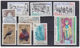 Andorre Française 1981 Année Complète 25 % Neuf ** TB MNH Sin Charnela Cote 13.7 - Andorre Français