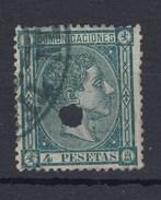 0709 EDIFIL Nº 170- T - 1875-1882 Royaume: Alphonse XII