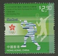 Hong Kong JO Rio 2016 Tennis De Table Et Tennis