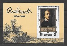 Corée Nord BF (II)Rembrandt **