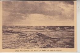 17 - ÎLE D´OLÉRON - La Mer à LA BRÉE, Un Jour De Tempête - Ile D'Oléron